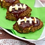 Barbecue Football Mini Meatloaf