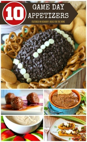10 Game Day Appetizer Recipes from Kenarry: Ideas for the Home