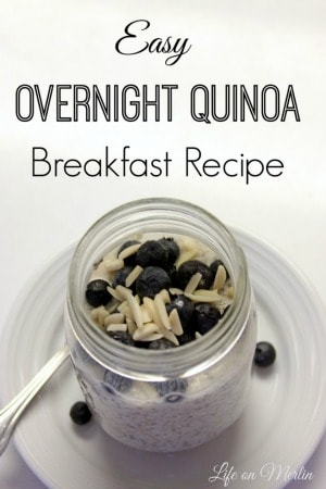 Easy Overnight Quinoa Breakfast Recipe - Life on Merlin for Kenarry.com