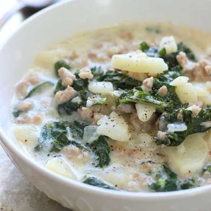 Creamy Zuppa Toscana