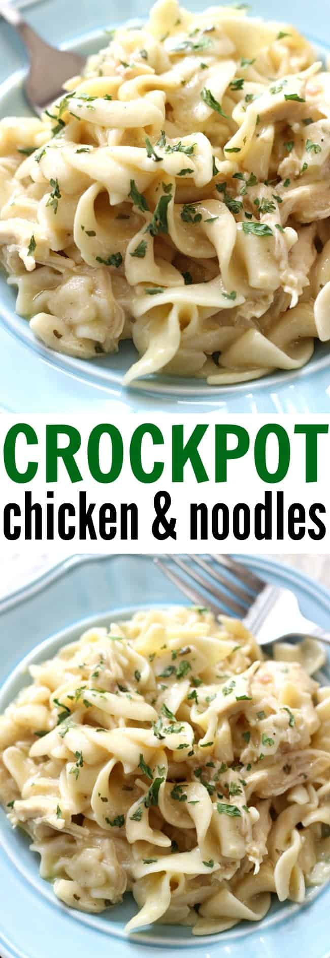 Crockpot Chicken And Noodles Belle Of The Kitchen