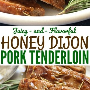 This is my absolute FAVORITE way to cook pork tenderloin! It's so flavorful and simple to make. Definitely a regular in our dinner rotation!