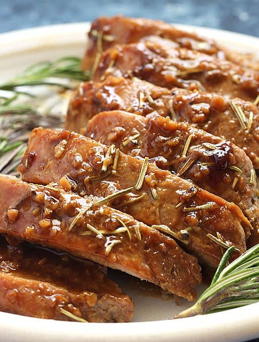 Honey Dijon Pork Tenderloin Recipe