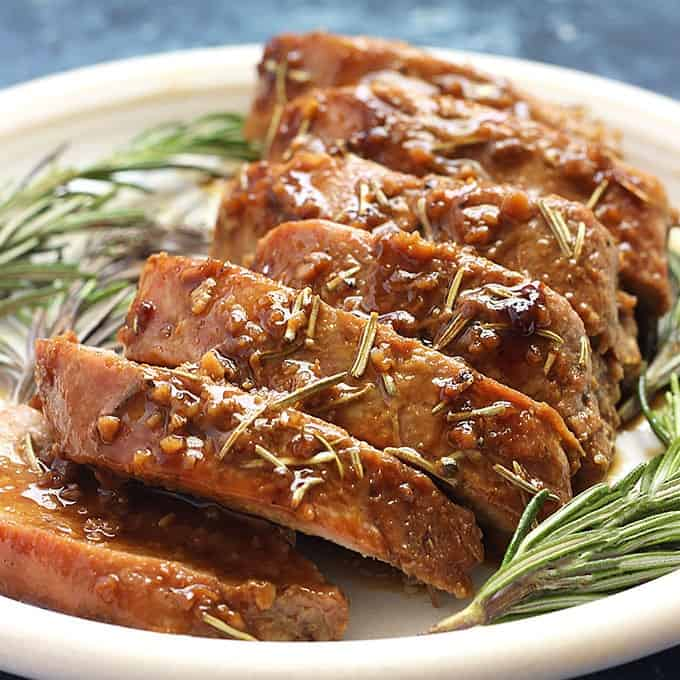 Honey Dijon Pork Tenderloin Recipe