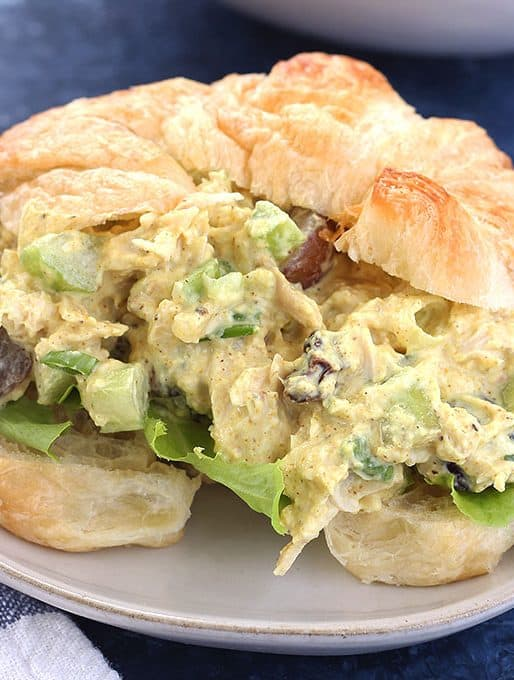 Greek Yogurt Curry Chicken Salad Recipe