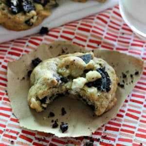 Oreo White Chocolate Chip Cookies
