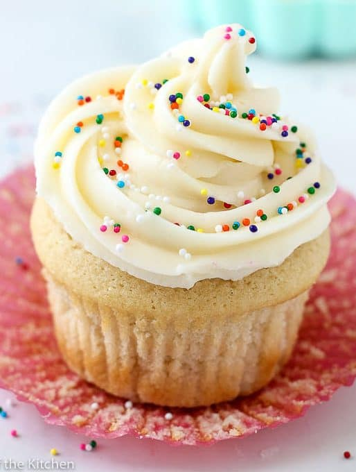 The Best Vanilla Buttercream Frosting