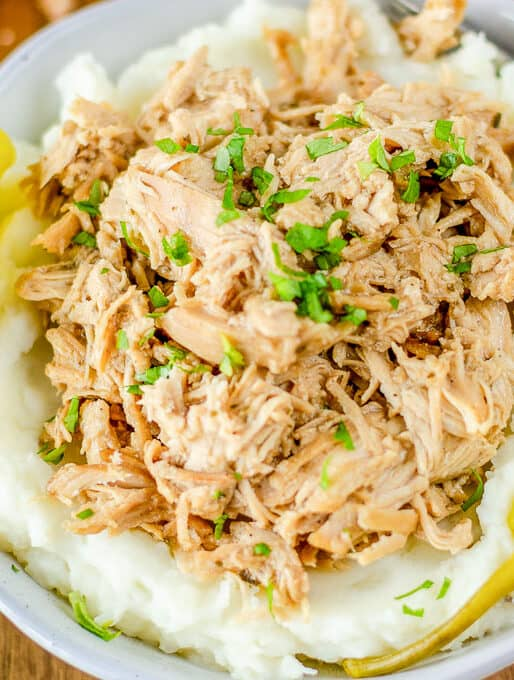 Crockpot Mississippi Chicken
