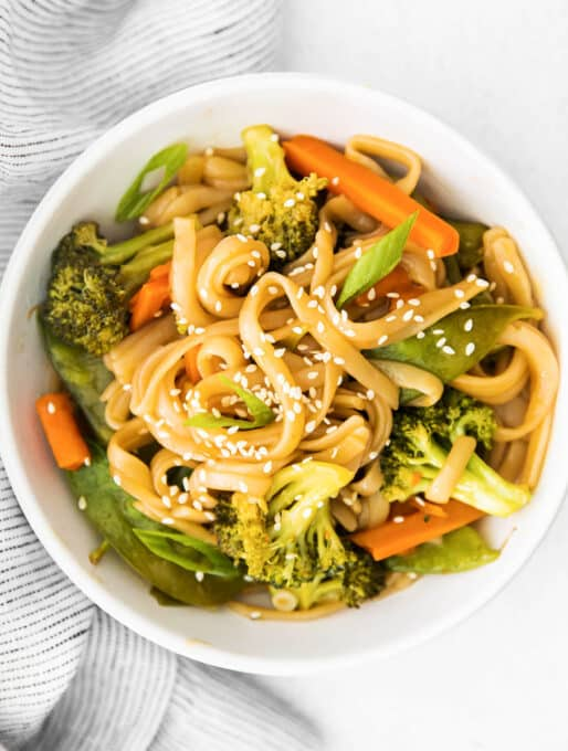 Instant Pot Stir Fry Rice Noodles Recipe